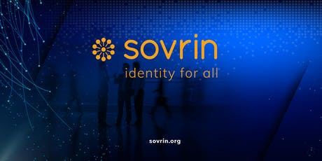 Sovrin London Meetup 4 tickets