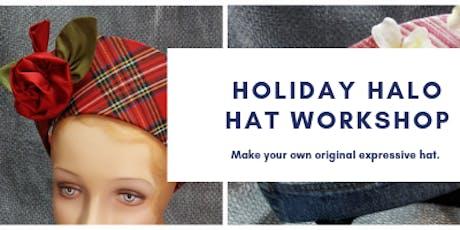 Holiday Halo Hat Workshop tickets
