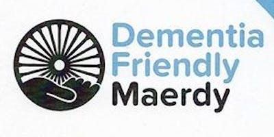 Community Coordinator Information Drop-in at Maerdy Dementia Cafe