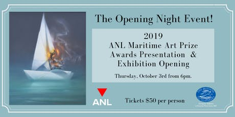 2019 ANL Maritime Art Prize & Exhibition Opening Event tickets