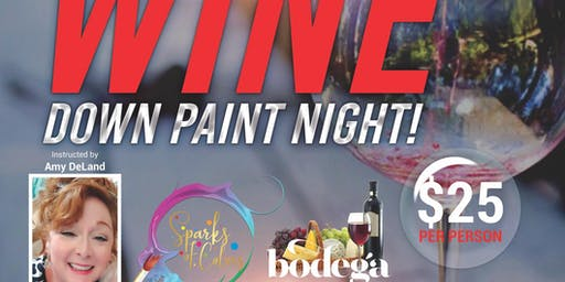 Wine Down Wednesday Paint Night
