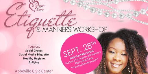 Etiquette and Manners Workshop