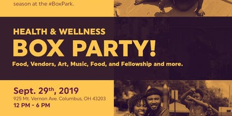 Maroon Arts Group's Health & Wellness Box Party! tickets