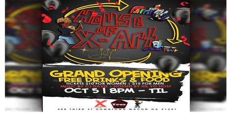 Grand Opening of House of X-Art Gallery tickets