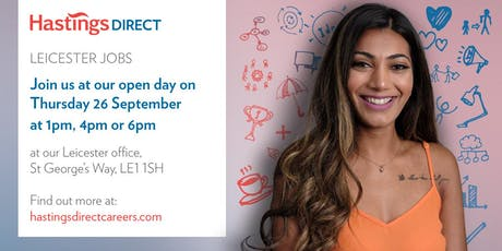 Leicester Recruitment Open Day - 26th September 2019 tickets