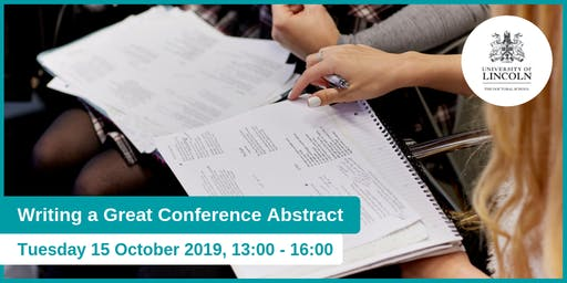 Writing a Great Conference Abstract