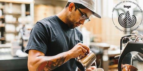 Kickback Coffee Masterclass with Sage Appliances tickets