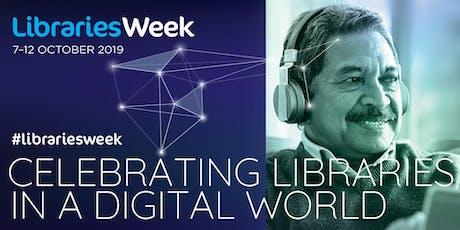 Libraries Week at Savick Library (Savick) #librariesWeek tickets
