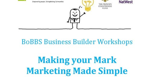 Making your Mark. Marketing Made Simple