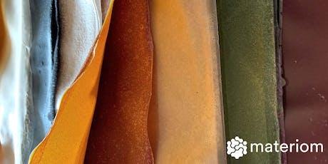 Bioplastics & Natural Dyes - Oct LDN Workshop 1 tickets
