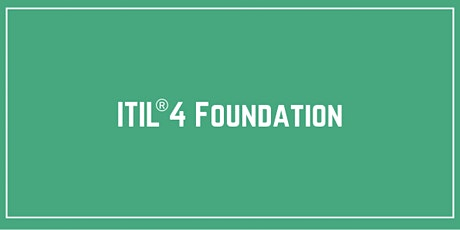 ITIL® 4 Foundation Training & Certification in Toronto tickets