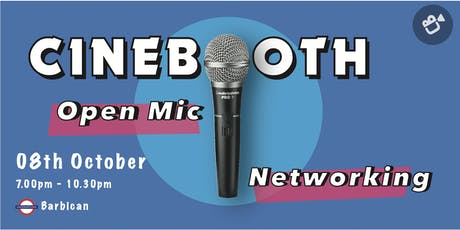 Cinebooth: Open mic networking for the independent film industry tickets