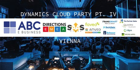 Dynamics Cloud Party pt. IV Tickets