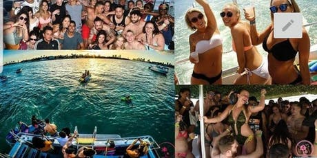DISCOUNTED TICKETS ALL INCLUSIVE PARTY BOAT: OPEN BAR/FOOD/PARTY BUS/JETSKI tickets