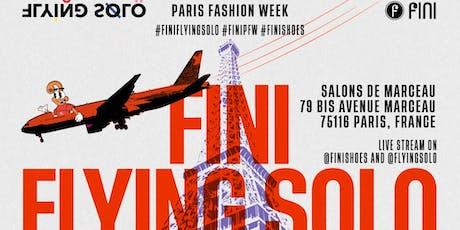 FINI GOES TO PARIS billets