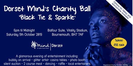Dorset Mind's Charity Ball 'Black Tie & Sparkle'  tickets