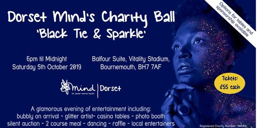 Dorset Mind's Charity Ball 'Black Tie & Sparkle'