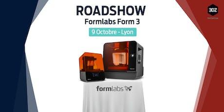 Roadshow Formlabs: l'impression 3D Formlabs à Lyon. Événement gratuit. billets