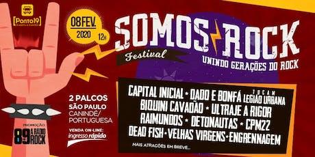 Somos Rock Festival - Excursão ingressos