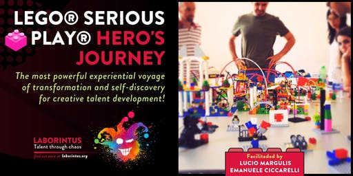 LEGO® SERIOUS PLAY® HERO'S JOURNEY - by Lucio Margulis & Emanuele Ciccarelli