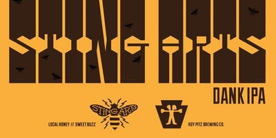 Sting Arts Launch Celebrating Bees + Beer!