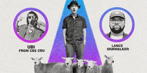 Wax, UBI(ces cru)and Luke Skiiwalker live 10/22@Club Red 12+