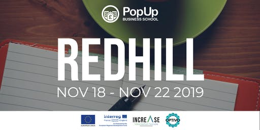 Redhill - PopUp Business School | Making Money From Your Passion
