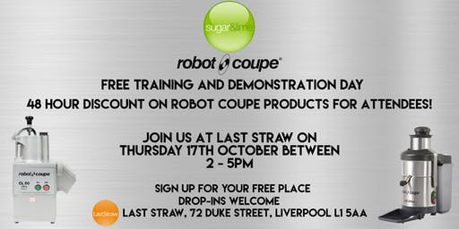 Sugar & Lime with Robot Coupe Demonstration Day
