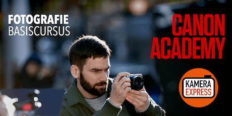 Basiscursus Fotografie met Canon Academy tickets