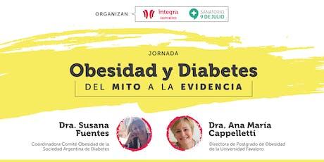 """""""Obesidad y Diabetes: Del mito a la evidencia"""" entradas"""