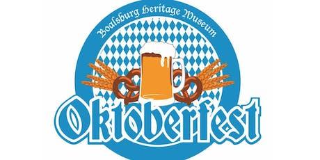 Boalsburg Heritage Museum OKTOBERFEST tickets