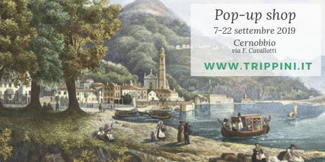 Pop-up shop - Cernobbio Lago di Como biglietti