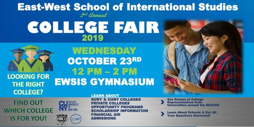 East-West School of International Studies Annual College Fair