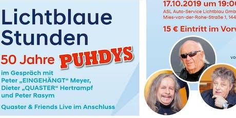 Lichtblaue Stunden - 50 Jahre PUHDYS Tickets