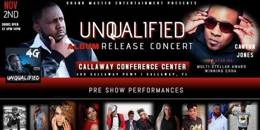 "4 G ""Unqualified"" Official Album Release Concert"