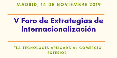 V Foro de Estrategias de Internacionalización entradas