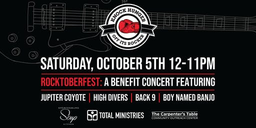 RJ Rockers presents ROCKTOBERFEST: Jupiter Coyote, High Divers, BACK 9 & More