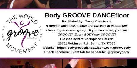 Body GROOVE DANCEfloor Class tickets