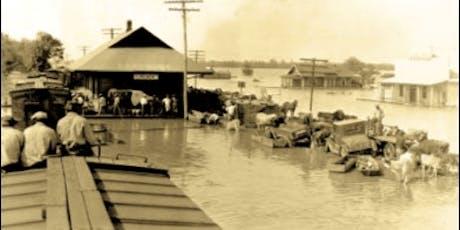 1927, la grande crue du Mississippi billets