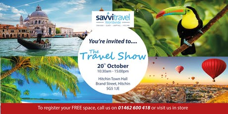 The Ampthill & Hitchin Travel Show tickets