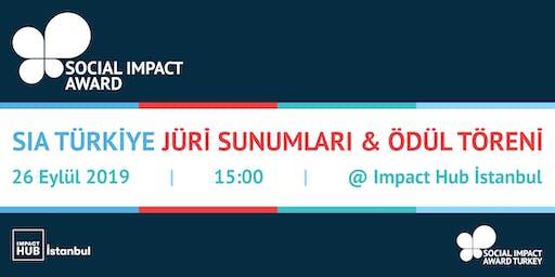 Social Impact Award Türkiye: Jüri Sunumları ve Ödül Töreni