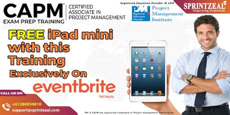 CAPM® Certification Training in Perth tickets