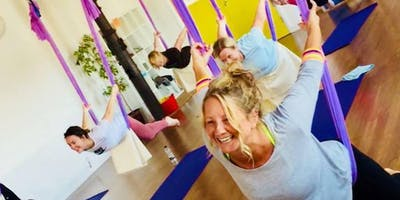 Introduction To Aerial Yoga With Paddy