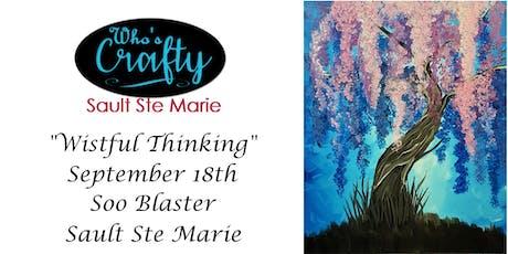 Who's Crafty SSM - Wistful Thinking - Soo Blaster tickets