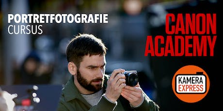 Workshop Portretfotografie met Canon Academy tickets
