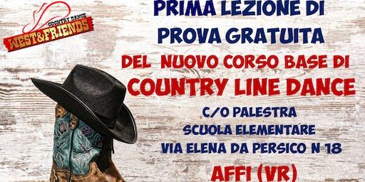 LEZIONE DI PROVA GRATUITA AD AFFI (VR) - COUNTRY LINE DANCE