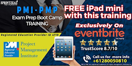 PMP Certification training in Perth tickets