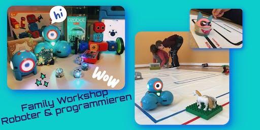 Familien-Workshop: Roboter & Programmieren