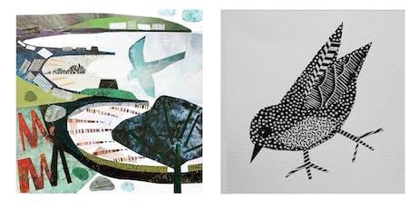Paper collage workshop with Jane Robbins tickets