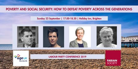 Fabians: Poverty & Social Security: Defeating poverty across generations tickets